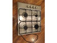 Stainless steel Gas Hob- great condition full working order