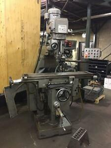 FIRST LC-20VSG Knee Type Heavy Duty Vertical Milling Machine