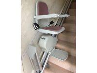 Acorn Straight Stairlift Delux Model (Left Hand)