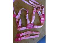 Mothercare Pink Toddler Harness & Reins
