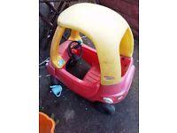 Car- Little Tikes -Child