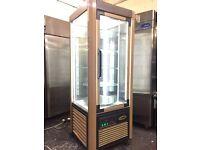 Cake fridge, commercial rotating shelves cake fridge, for Coffe shops