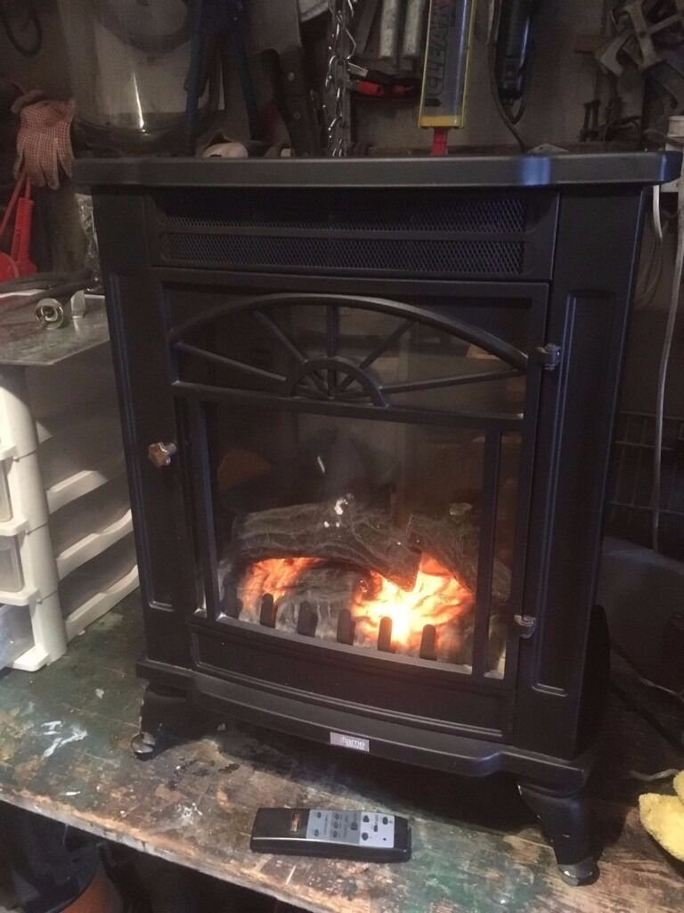 Bi Flame Free Standing Electric Fire From B And Q Model