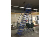Large Warehouse Ladders - for racking or Mezzanine flooring entry