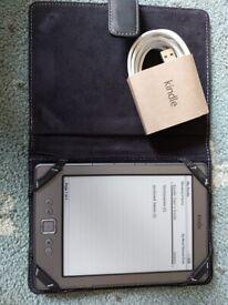Amazon Kindle eReader & Case