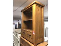 2 drwr small bookcase