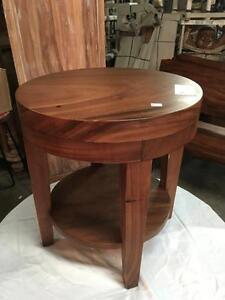 Table basse salon Bois Teck Massif - Indonésie / Solid Teak Wood Coffee Table - Indonesia