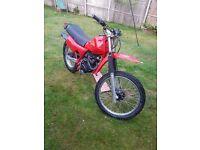 Honda XL 125 classic trials