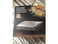 Brand new george foreman family grill for gealthy meals