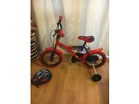 "Spider-Man bike - 14"" wheels"
