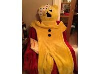 Yellow Bear outfit from smoke free home