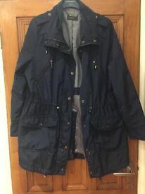 Navy Blue Festival Rain Jacket - Size 14
