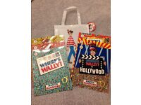 Where's Wally 6 Book Set with Bag