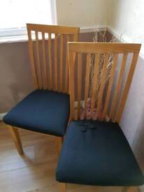 EMERGENCY CHAIRS £15 FOR BOTH