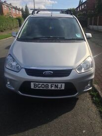 FORD C-MAX ZETEC 2.0 AUTOMATIC - IMMACULATE CONDITION INSIDE AND OUT - MOT UNTIL MAR 2017. FSH.