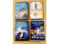 How to become a police officer DVD's & book