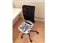 office chair Ikea Torbjorn for home office black white design