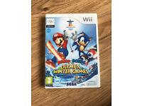 MARIO & Sonic Olympic Winter Games Nintendo Wii Game