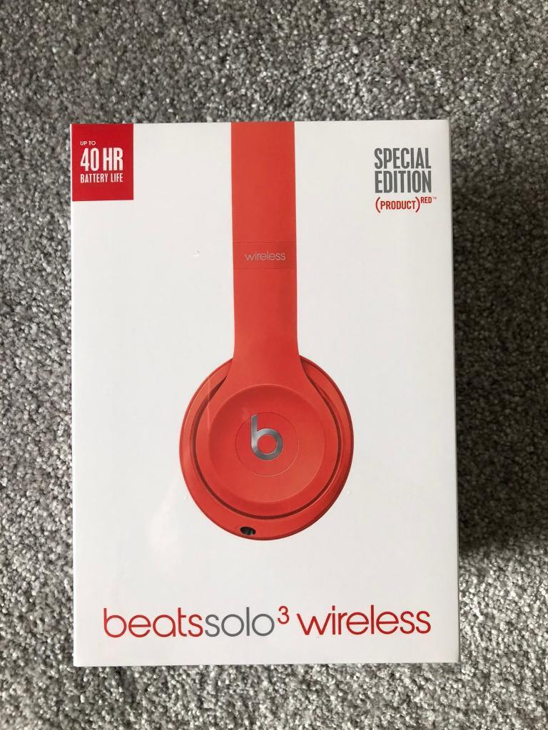 Beats Solo 3 Wireless - (PRODUCT) RED Special Edition  41a28e88df3b