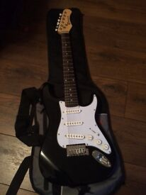 Junior Electric guitar with amplifier