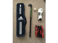 Hockey Stick, Shoes, Shin Guards - Mens