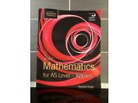 WJEC Mathematics AS Level - Applied