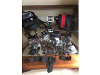 GoPro Hero3 Black edition plus many accessories