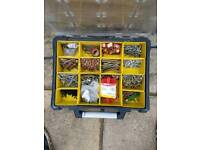 Stanley screw box and content