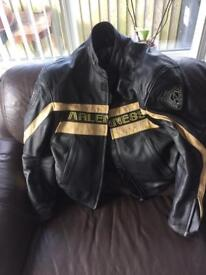 Arlen ness motorcycle jacket size 46