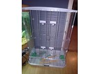 Hagen vision medium double height bird cage
