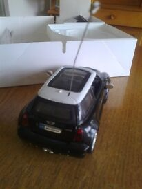 REMOTE CONTROLLED MINI COOPER c/w Front & Rear lights, Full working order.