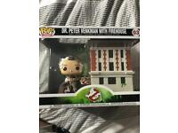 Funko pop dr Peter venkman with firehouse