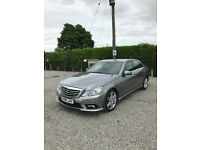 2009 Mercedes E350 CDI AMG 3.0 V6 Diesel Fully Loaded Xenon's LED's Full Black Leather