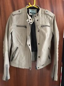 Brand new Superdry leather jacket