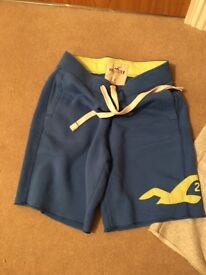 Holister shorts. Sweatpant material. Size small men's. No marks or damage