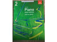 ABRSM piano grade 2 pieces 2011-2012