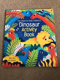 Brand New - Kids Dinosaur Activity Book - Usborne
