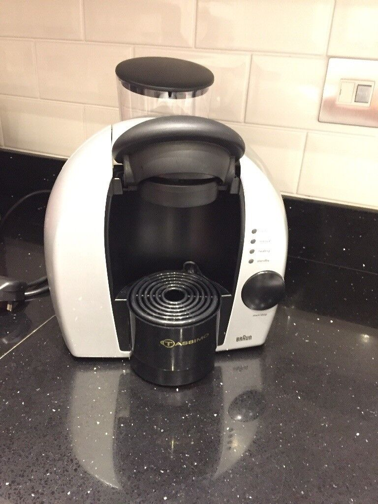 Braun Tassimo disc system coffee maker