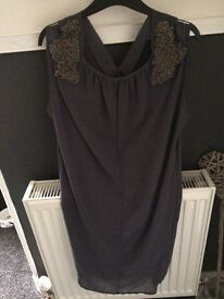 New without tags ladies dark grey dress
