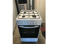 Flavel gas cooker 50cm white