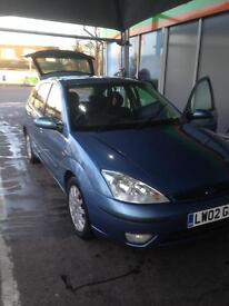 Ford Focus 2002 1.6 Open to offers