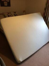 Double memory foam mattress - as new - sheringham