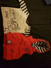 Large bundle of boys clothes 6-9 months