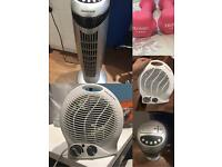 Dumbbell,fans and heater