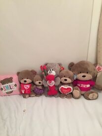 Collection of bears, photo frames and token items (can be bought individually)