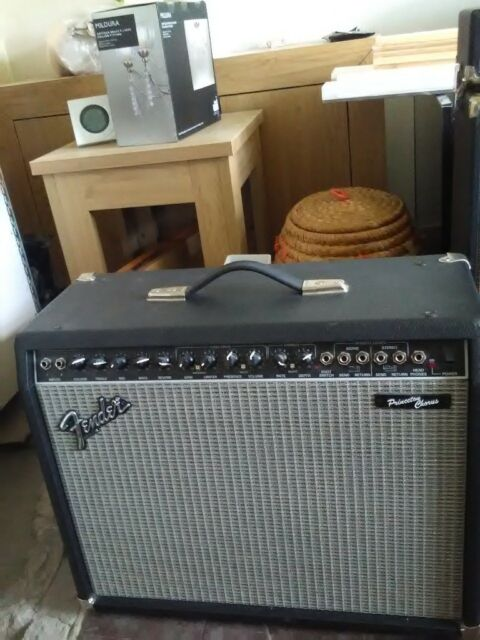 Fender princeton chorus amp and pedal | in Stoke-on-Trent, Staffordshire |  Gumtree