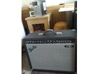 Fender princeton chorus amp and pedal