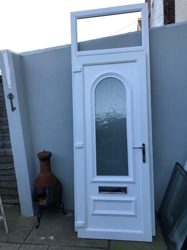 Brand New Front Door With Top Light Been Fitted Then