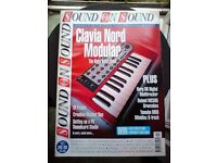 Sound on sound magazines £25 1997-2008