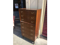 G- Plan Chest of Drawers , good quality and condition. Size W 24in D 16in H 50in.